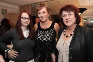 Sarah Waldron, Deirdre Waldron & Bibi Baskin