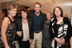 Deirdre Waldron, Bibi Baskin, Tommy Doyle, Trish Hickey, Joan Doyle