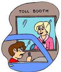 Toll Booth Woman