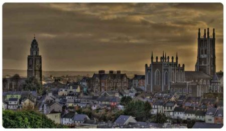 Cathedral and Shandon - Cork
