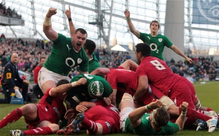 Ireland v Wales, Six Nations 2014