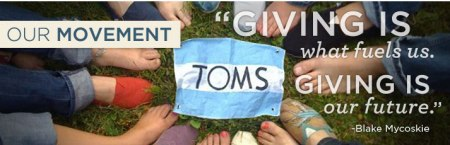 Tom's - Join our Movement