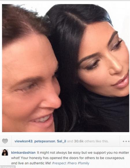 Kim / Caitlyn Jenner tweet
