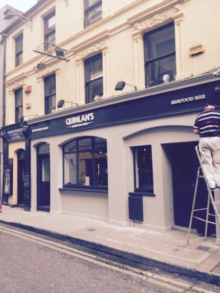 Quinlan's Fish restaurant, Cork