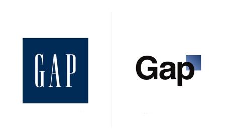 The Gap logos