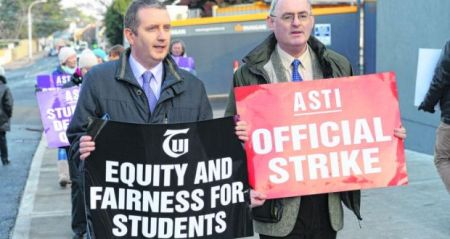 Teachers Strike in Ireland