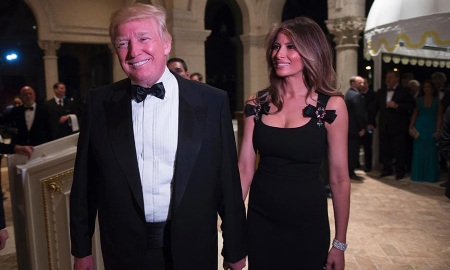 Melania Trump D&G Dress