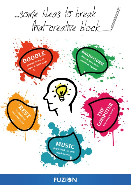 Fuzion - Creative block infographic