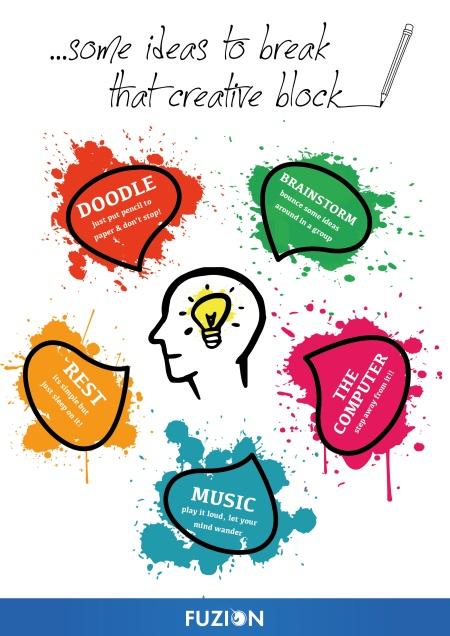 Fuzion - Creative block infographic