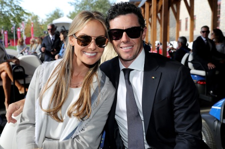 Rory McIlroy and Erica Stoll wedding