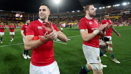 Conor Murray and Alun Wyn Jones