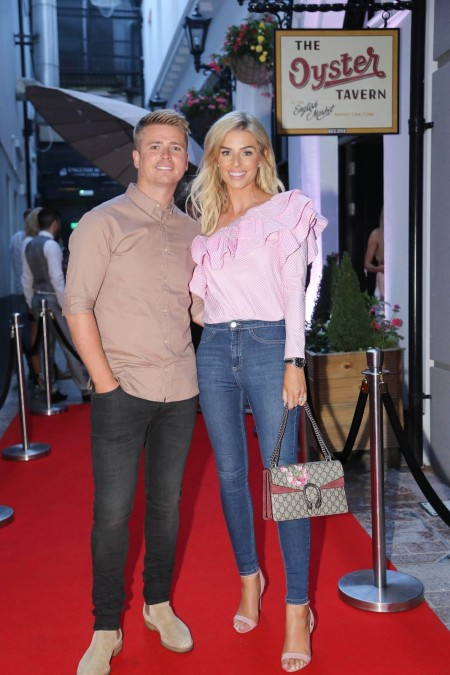 Pippa O'Connor and Brian Ormond at the Opening of The Oyster Bar