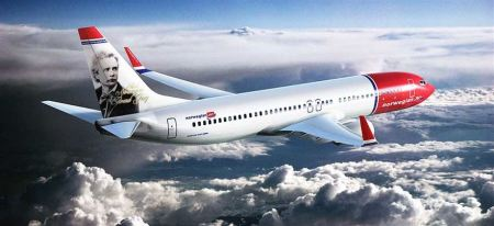 Norwegian Airlines - Cork to Boston