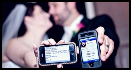 social media wedding