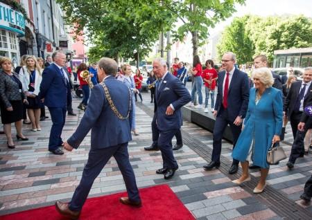 Prince Charles visiting Cork