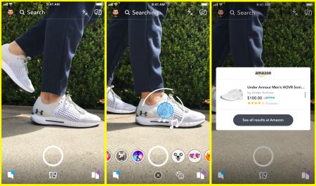 Snapchat Shopping