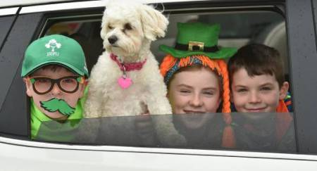 Car Parade - Saint Patrick Day 2020